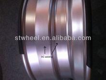 22.5x9.00 truck wheels by DC welding and laser welding technology