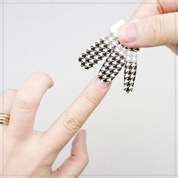 2014 Popular Style 3D Nail Art Stickers Nail Polish Sticker Nail Stickers
