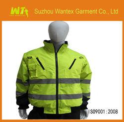 EN471 /EN343 Anti -static and Flame retardant workwear waterproof jacket