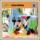 2014 New style 100% polyester coral fleece Micky mouse blanket wholesale