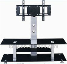 2015 Tempered glass lcd TV Stand desingn cabinet entertainment