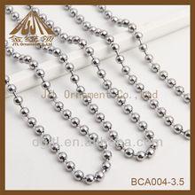 Fashion metal ball chain swing tag