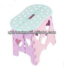 Hexing Plastic Peanut-shaped foldable stool