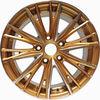"Beautiful golden surface 16"" alloy wheel rim"