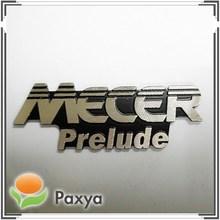 Custom computer metal logo plate sticker