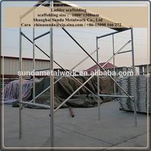 Ladder scaffolding 1000*1500mm/ scaffolding frame/ layer scaffolding system