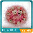 9PCS plush bear toy handmade bouquet