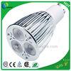 UL RoHS SAA CE C-tick Dimmable gu10 led 9 watt 3x3 watt spot light