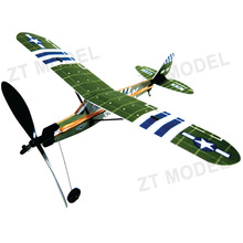 Aviator-Piper 16 Rubber Band Powered Aircraft Model