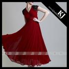 2015 latest cheap muslim abaya with 2 layers composite silk fabric design KJ-WAB7098