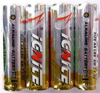 Alkaline AA battery four packs LR6
