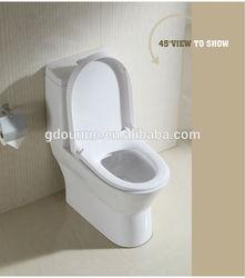 China ceramic one-piece toilet wc bath A125
