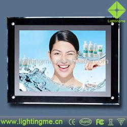 Super led slim snap frame light box
