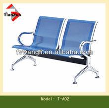 Blue Color Airport Armchair, public sofa T-A02