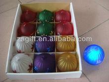 charming handmade glass ball christmas led light decorations