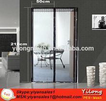 anti insect magnetic mesh door curtains,magic mesh door