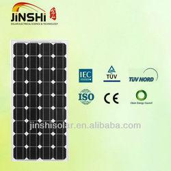 Mono PV solar panel 130w