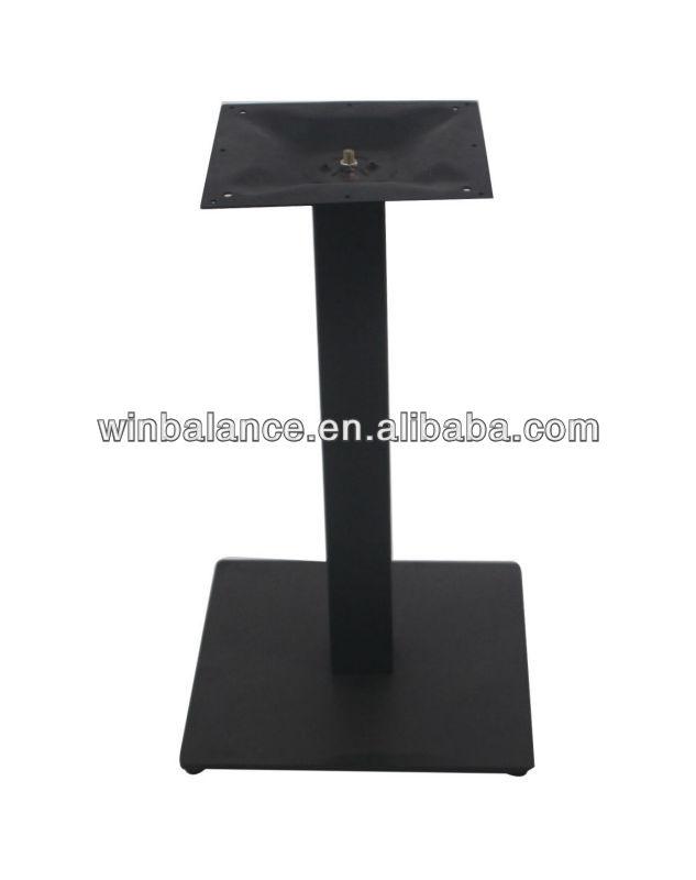 사각형 검은 색 텍스처 분말 금속 테이블베이스-커피 테이블 ...