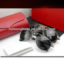 Hot selling Cheap famous fashion sunglasses Men's driver's fashion metal mixed wholesale men brand name sunglasses