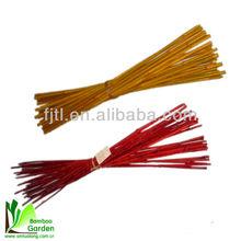 Baratos postes de bambú decorativos/colord postes de/colorido bienes de hueso