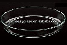 De alta calidad de borosilicato/para hornear pyrex placa& platos( kp0413)