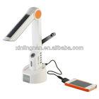 solar power charger & solar desk lamp & solar power bank with lighting
