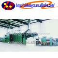 Boa qualidade tecido não tecido linha de produção, Algodão duro máquina, Poliéster não tecido linha de produção