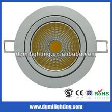 240V 20W dimmable COB LED down light daylight white 4000K