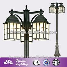 OEM Manufacturer Die Cast Aluminum Garden Lamp Post