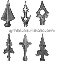 hot sale ornamental wrought iron parts for fence and gate