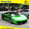 Carlas Green Automobile PVC Film Mirror Chrome Vinyl Wrap