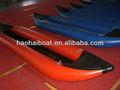 La gente 2 0.9mm pvc inflable kayak de río