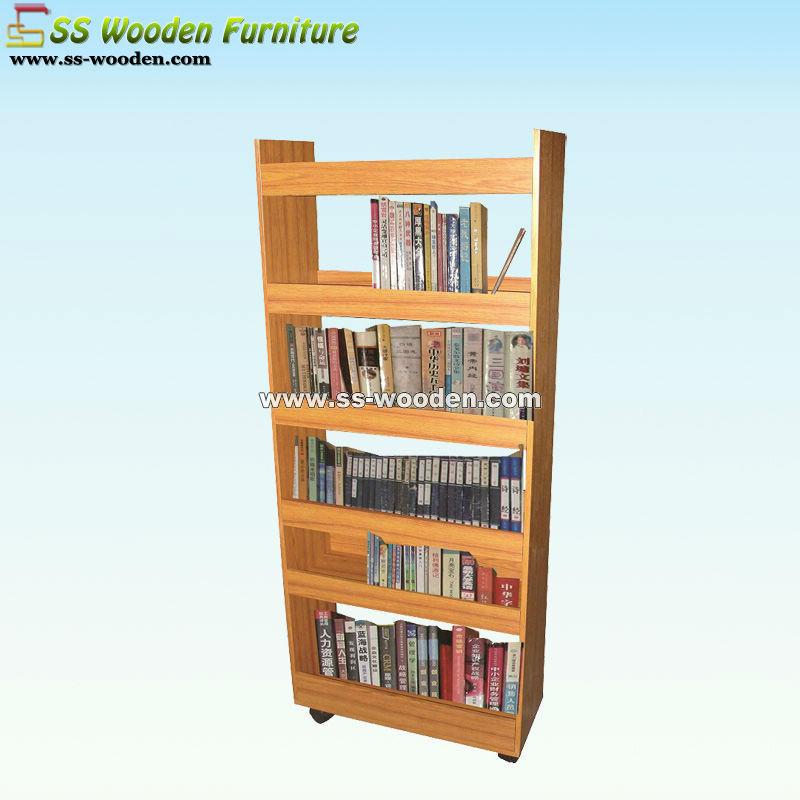 Wooden bookcases bookshelves