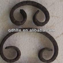 wrought iron ornamental c scroll