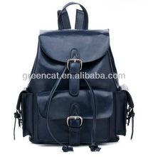 2014 Oversize custom colleague women's italian genuine leather backpack EC10182