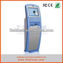 touch screen self-service kiosk terminal