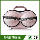 Protective fashion travel bra case for ladies