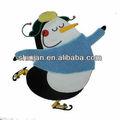 Sevimli penguen nakış yamaları/hayvan nakış yama