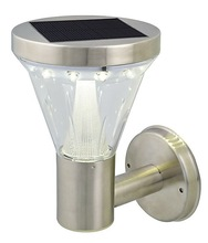 outdoor wal lamps 13pcs of led PIR motion sensor solar wall mounted light for garden IP44 CE ROHS
