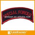 De la fuerza especial logo/bordado militar bage