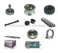 Gear, rack, motor, grua de construção de peças de reposição
