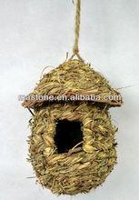 100% Handcraft natural straw bird cages
