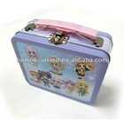 Hot sale kids tin lunch box with padloack