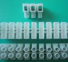 Terminal blocks, wiring row, Posts