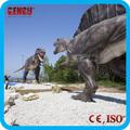 equipo al aire libre de zigong animados tamaño de la vida de los dinosaurios