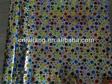 fashion wrapping paper(art paper,aluminium film,laser,bopp)