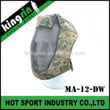 "KINGRIN Face Steel ""Striker mask"" Gen3 Mesh Full Face soft air tactical gear metal military face mask"