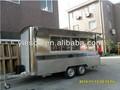 Yieson hizo caliente venta de café de kiosco/café carrito/café vending carrito