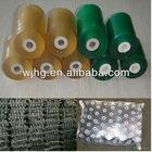 soft transparent pvc blue film for packaging