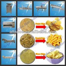86-15093184608 compact structure fried potato chips/ stick machine